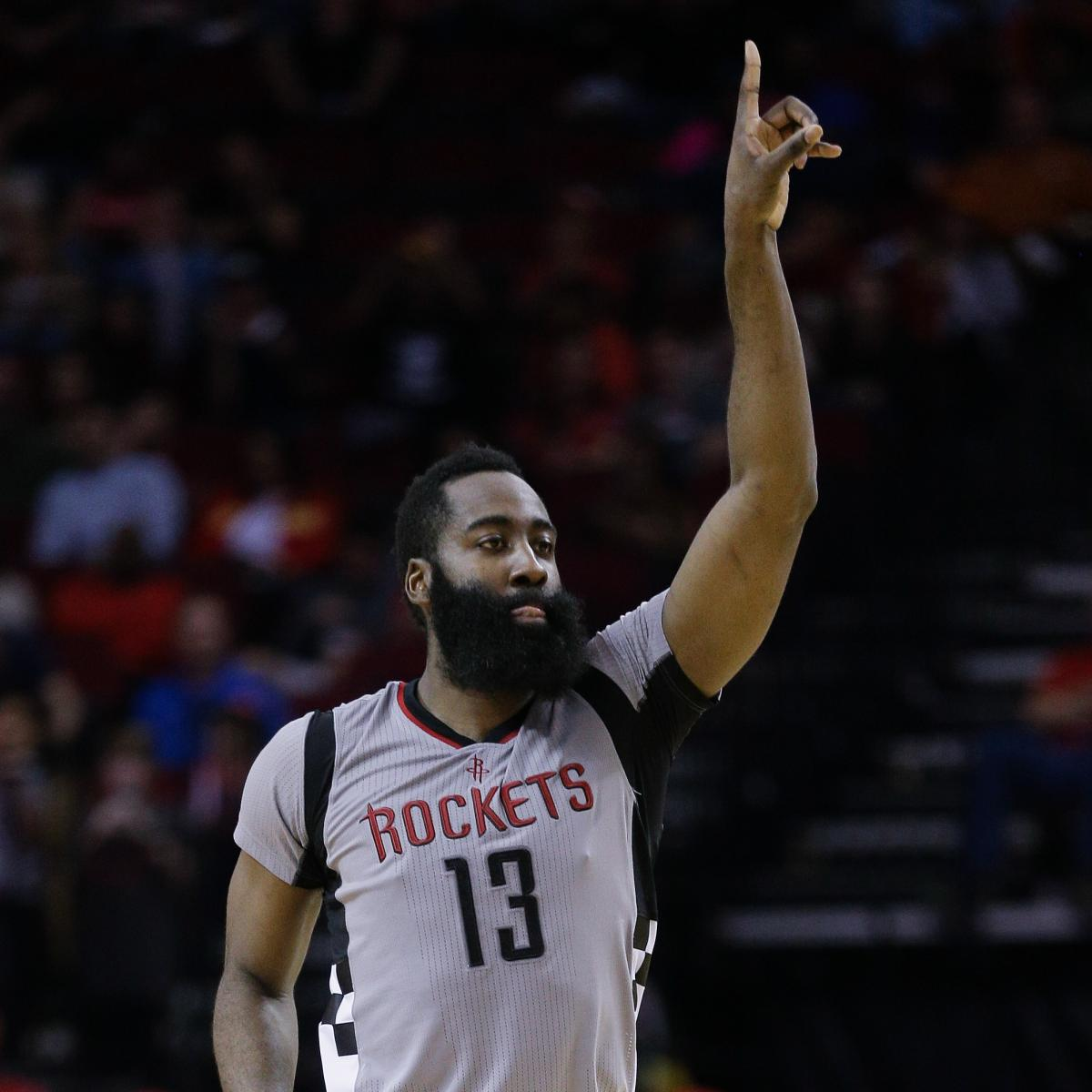 Houston Rockets Game Log: Rockets Set NBA Record For Most 3-Pointers In Game Vs