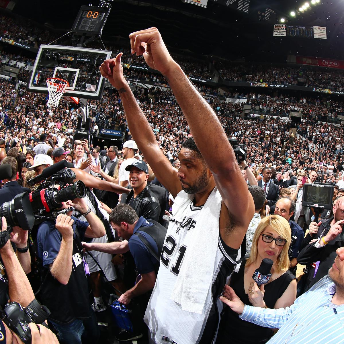 Longtime San Antonio Spurs Reporter Reflects On Tim Duncan