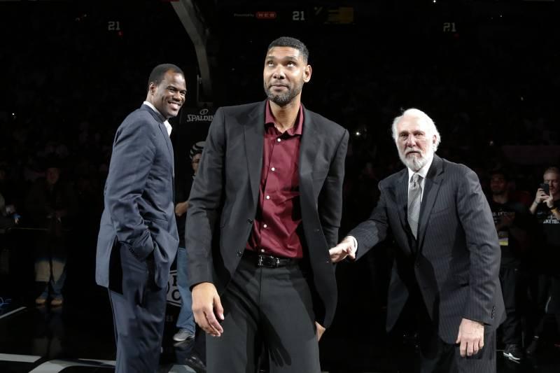 10c53503094 Gregg Popovich and Spurs Stars Recall Tim Duncan s Exemplary Career ...