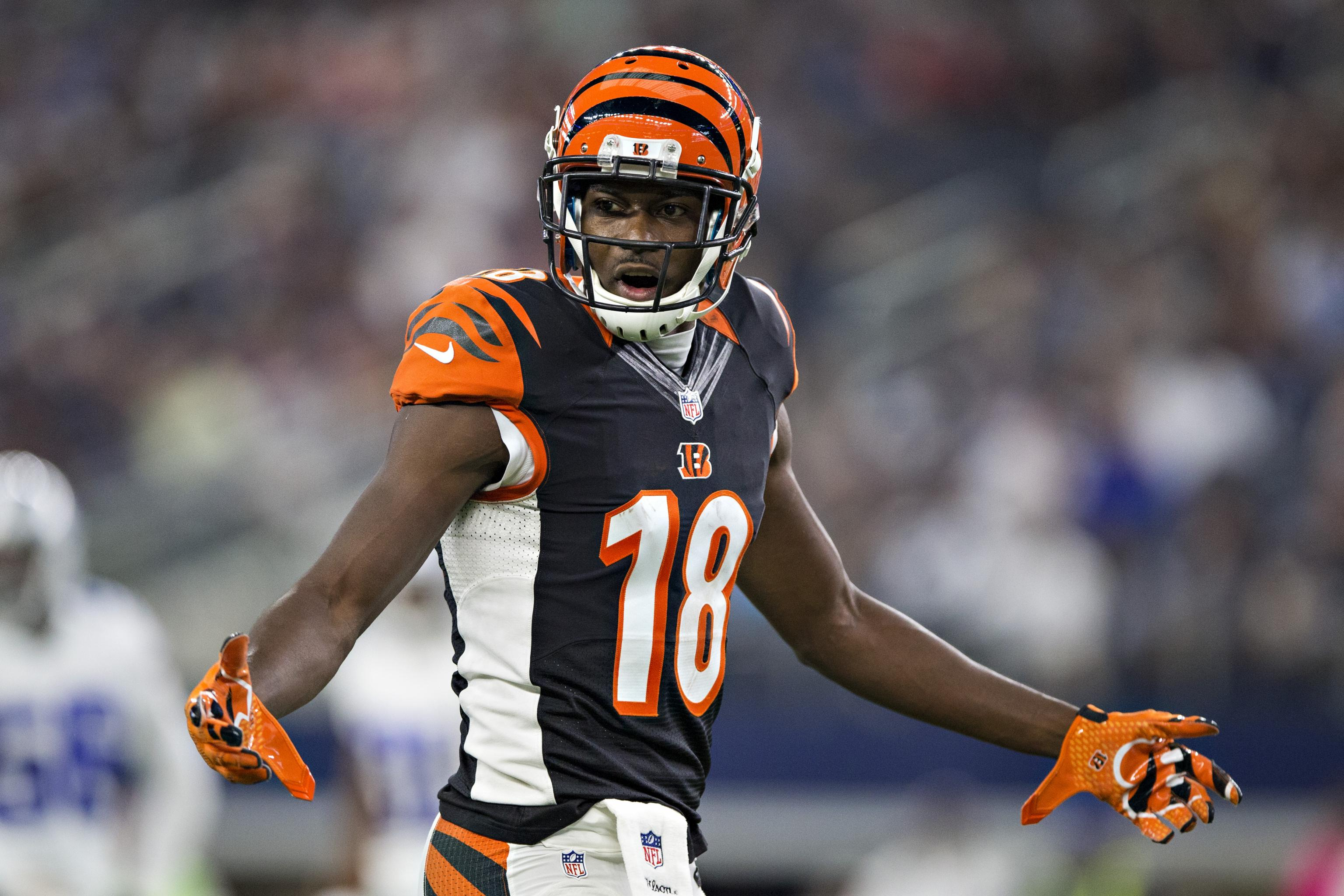 new arrive fd4a5 c50bc A.J. Green Reportedly Could Be Out Until December with Foot ...