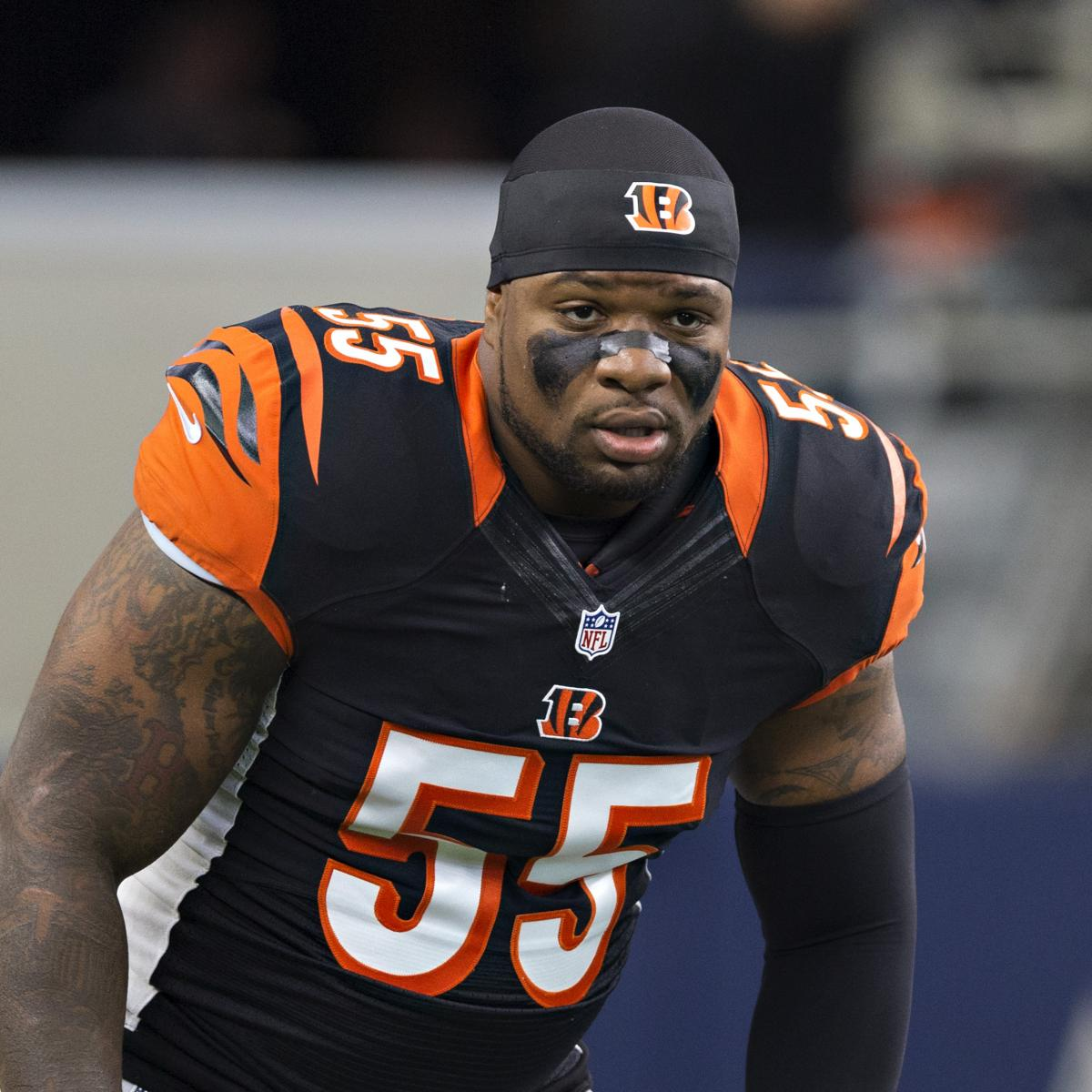 Vontaze Burfict Carted off with Head Injury After Dirty ...