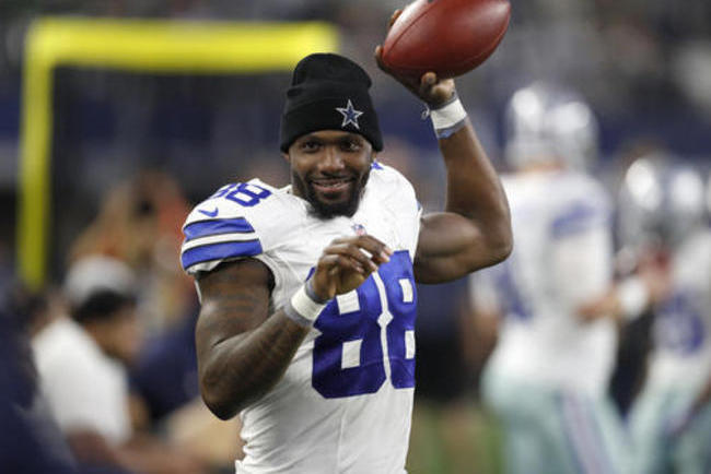 Dez Bryant Tries To Attend Cowboys Qb Meeting After Td Pass