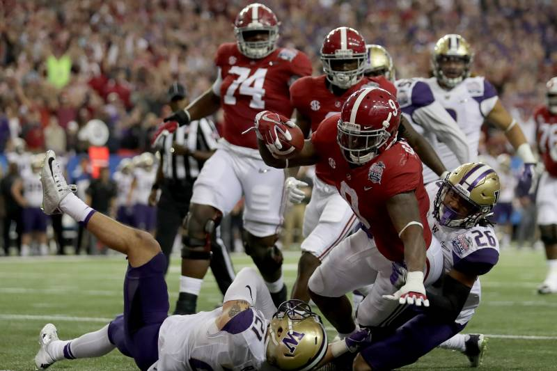 Washington vs  Alabama: Score and Reaction for 2016 Peach