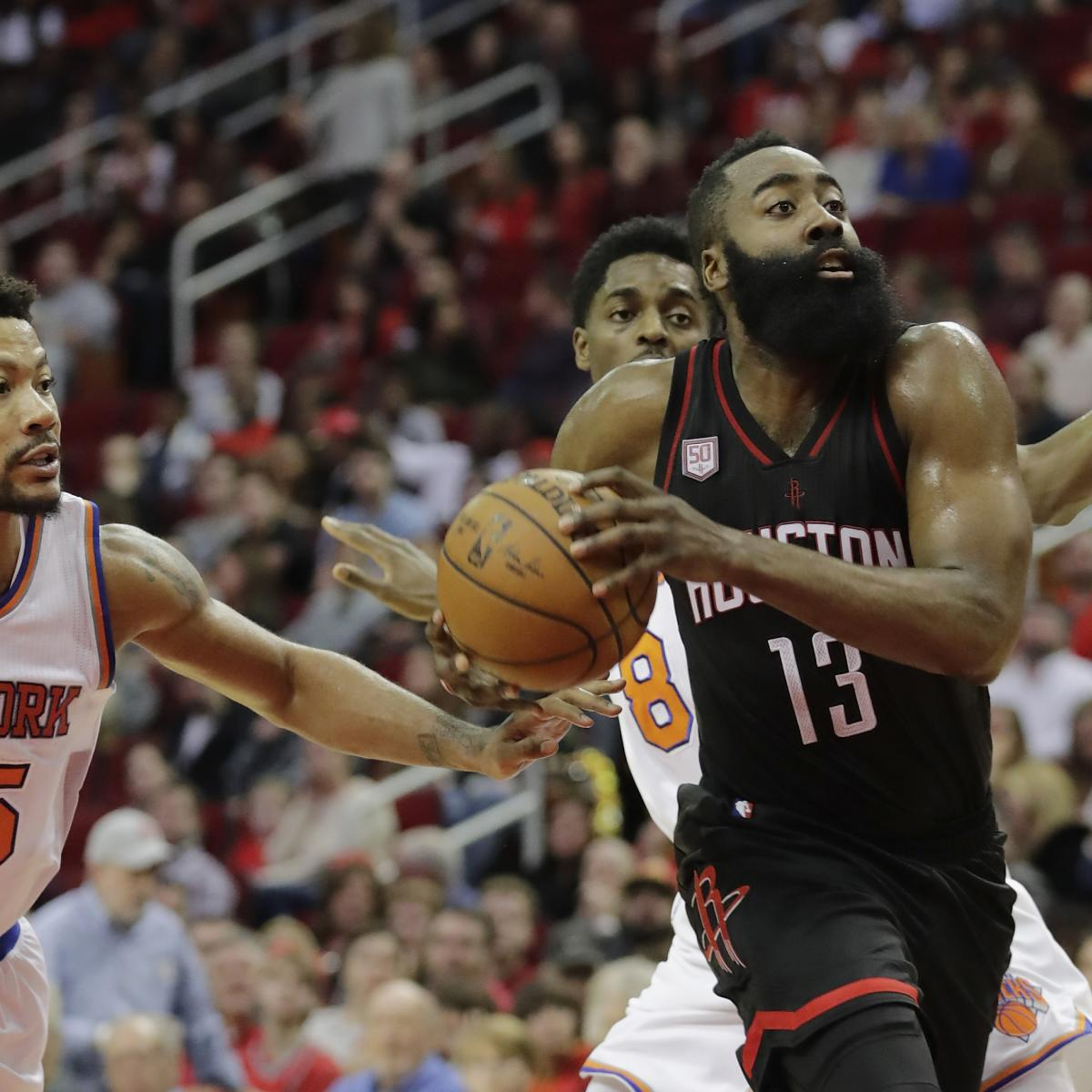 James Harden Yearly Stats: James Harden Vs. Knicks: Stats, Highlights And Reaction