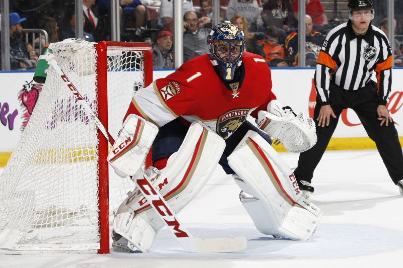 Panthers Roberto Luongo Eyeing 5th On All Time Wins List Bleacher