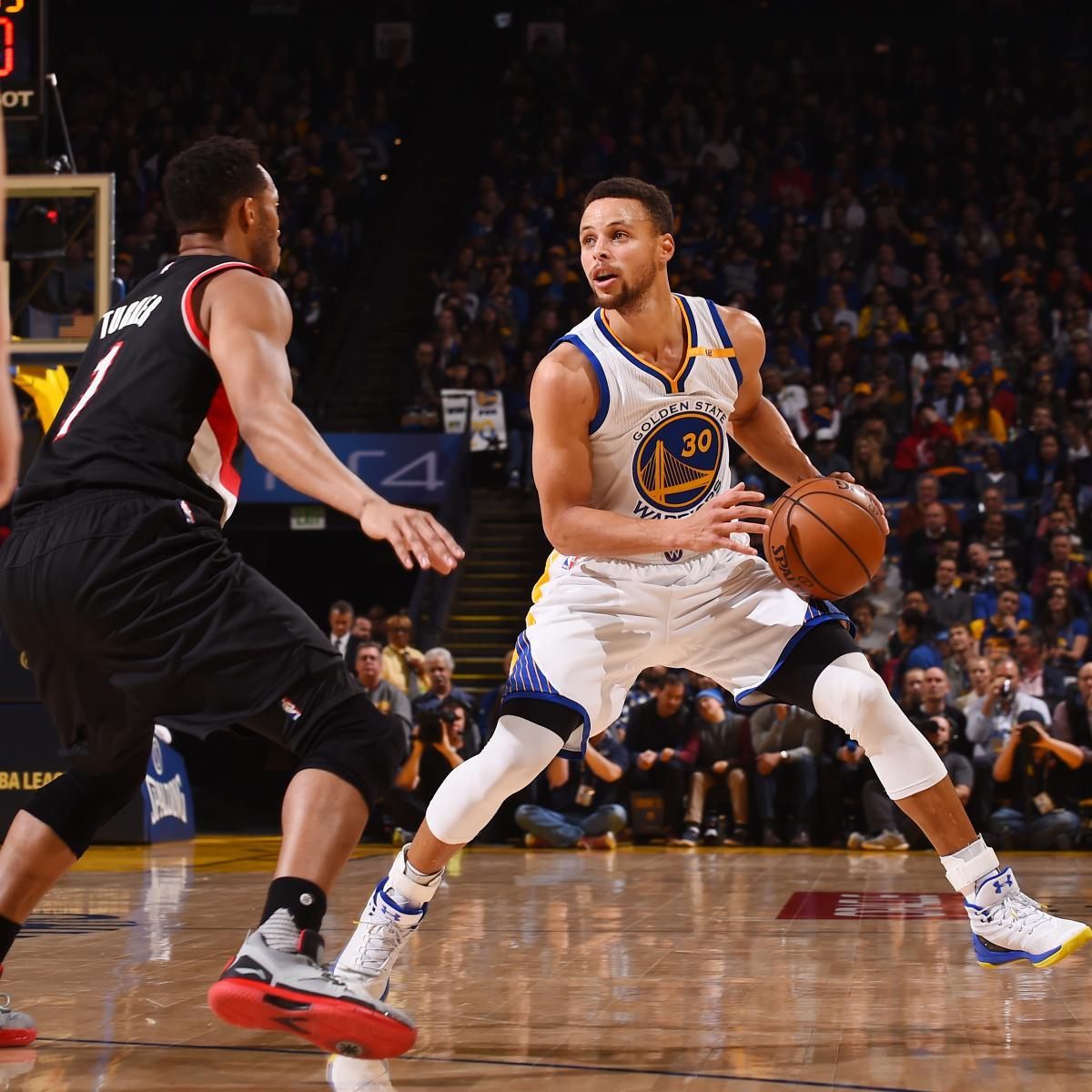 Portland Blazers Live Score: Trail Blazers Vs. Warriors: Score, Highlights, Reaction