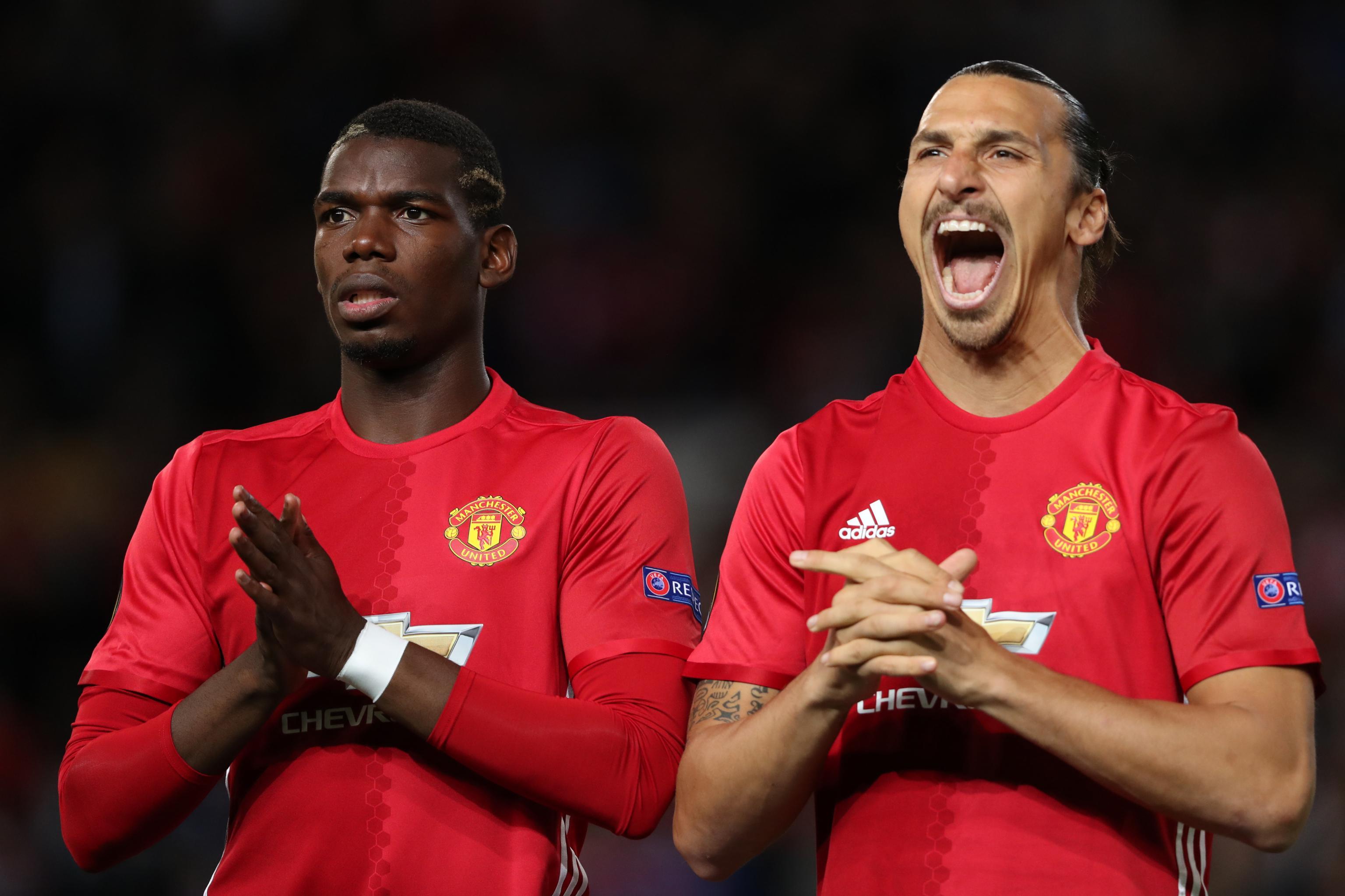 Paul Pogba Says Zlatan Ibrahimovic Can Topple Cristiano Ronaldo ...