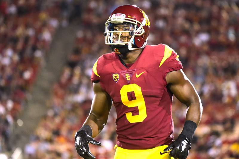 a827c8e8597 JuJu Smith-Schuster Declares for 2017 NFL Draft  Latest Comments and  Reaction