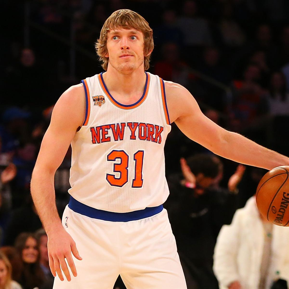 Another Knicks Novelty Ron Bakers Journey From Farm To Madison
