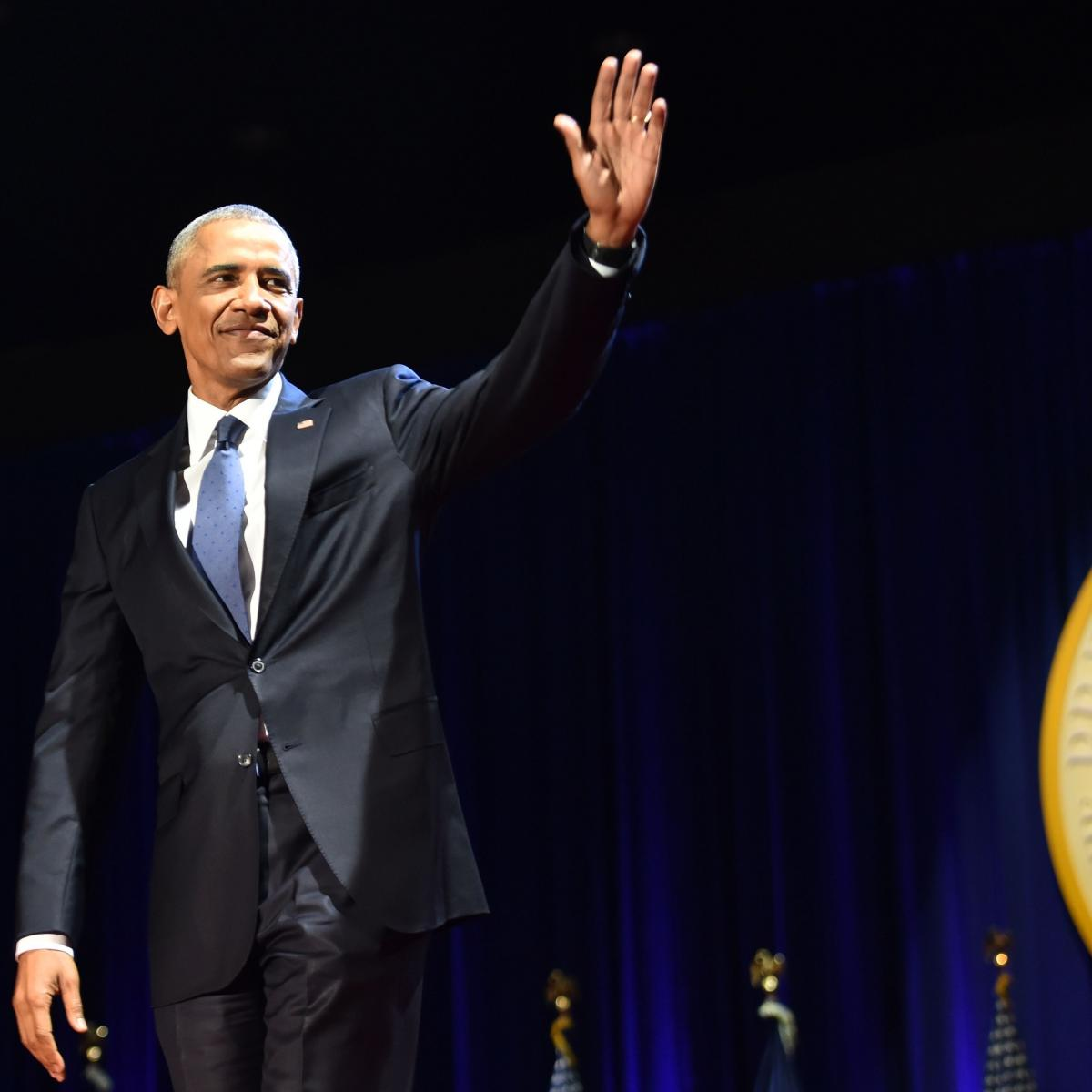 Athletes Honor President Barack Obama on Night of Farewell Address