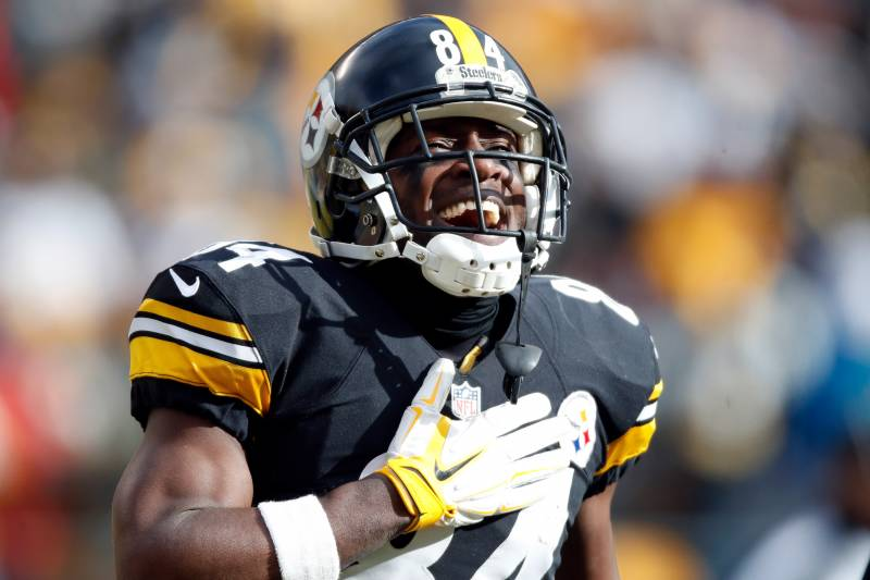 big sale ed0db a9847 Antonio Brown, Steelers Agree on New Contract: Latest ...