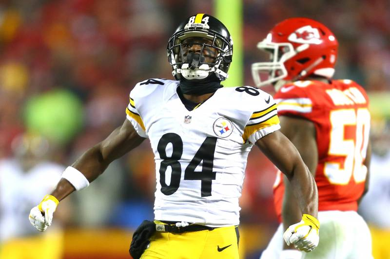 Antonio Brown Fined For Posting Video Of Mike Tomlins Postgame