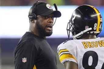 Mike Tomlin Comments On Antonio Brown Posting Video On Facebook