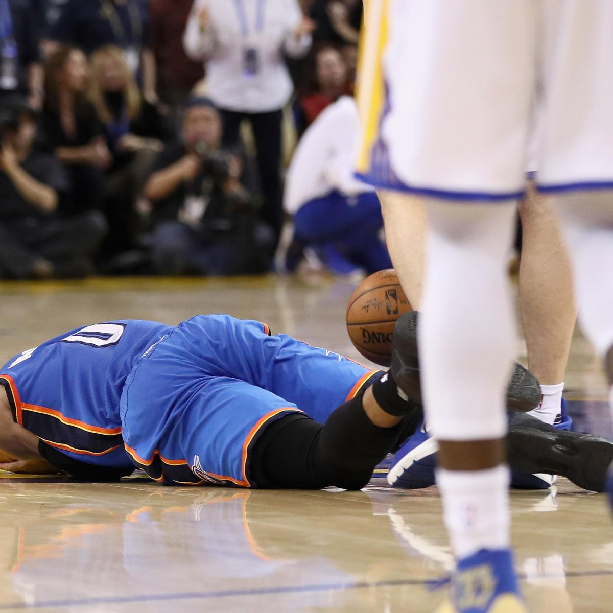 Russell Westbrook On Being Hit By Young Nuggets Fan Fans: Zaza Pachulia Fouls, Stares Down Russell Westbrook