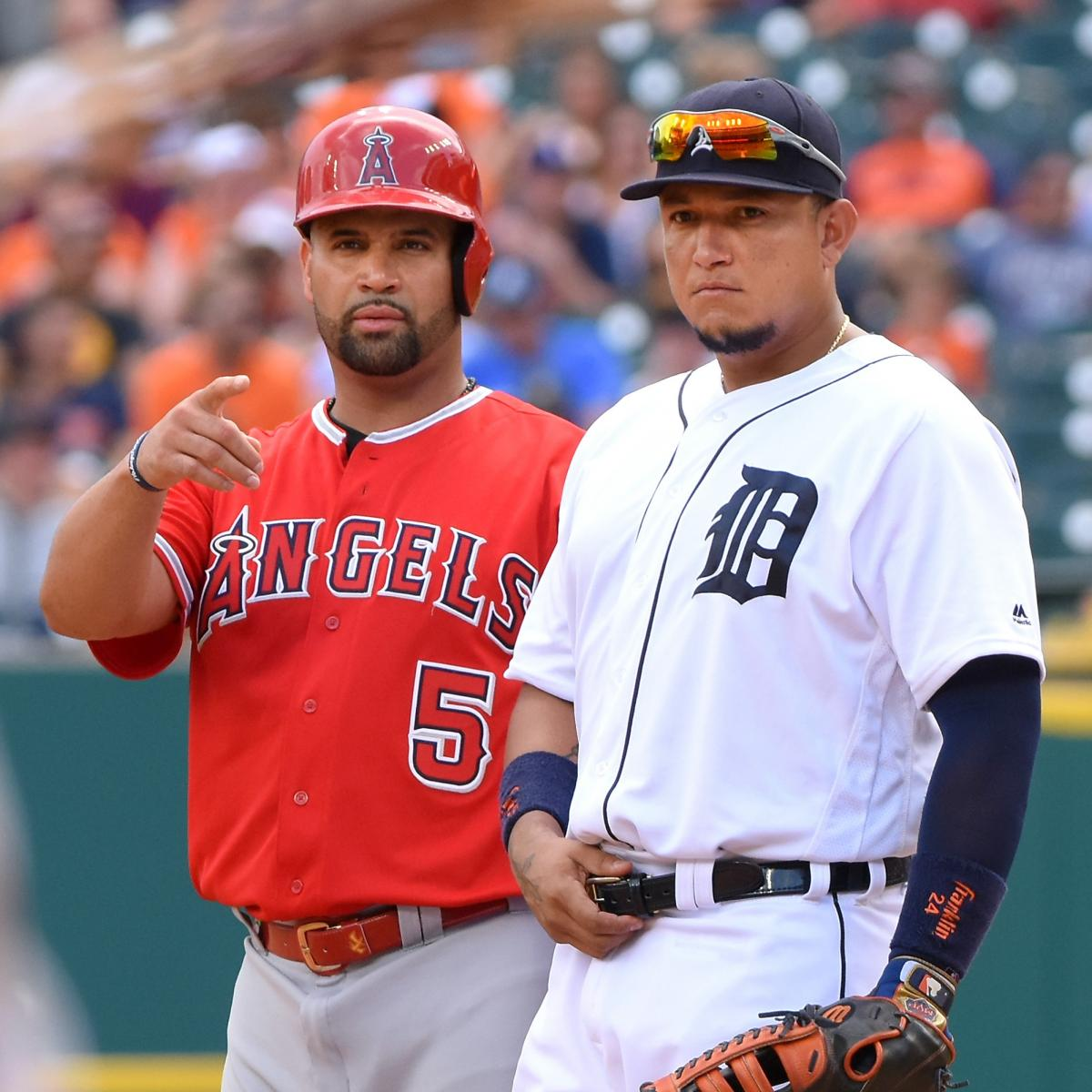 Miguel Cabrera, Albert Pujols Lead B/R's All-HOF Team in ...