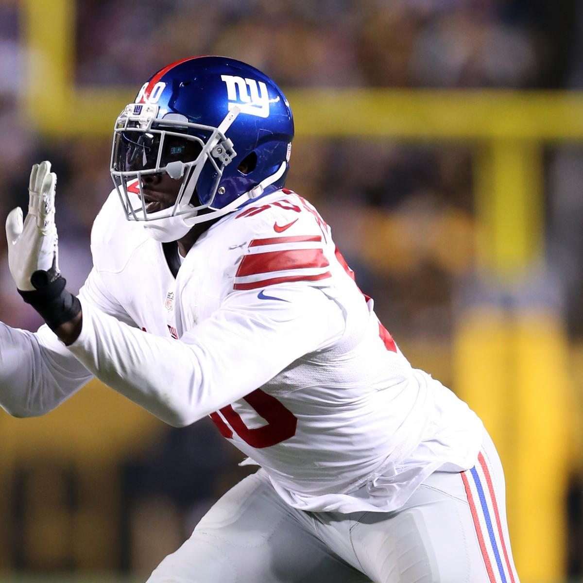Jason Pierre Paul Nfl Contract: Jason Pierre-Paul: Latest News, Rumors And Speculation On