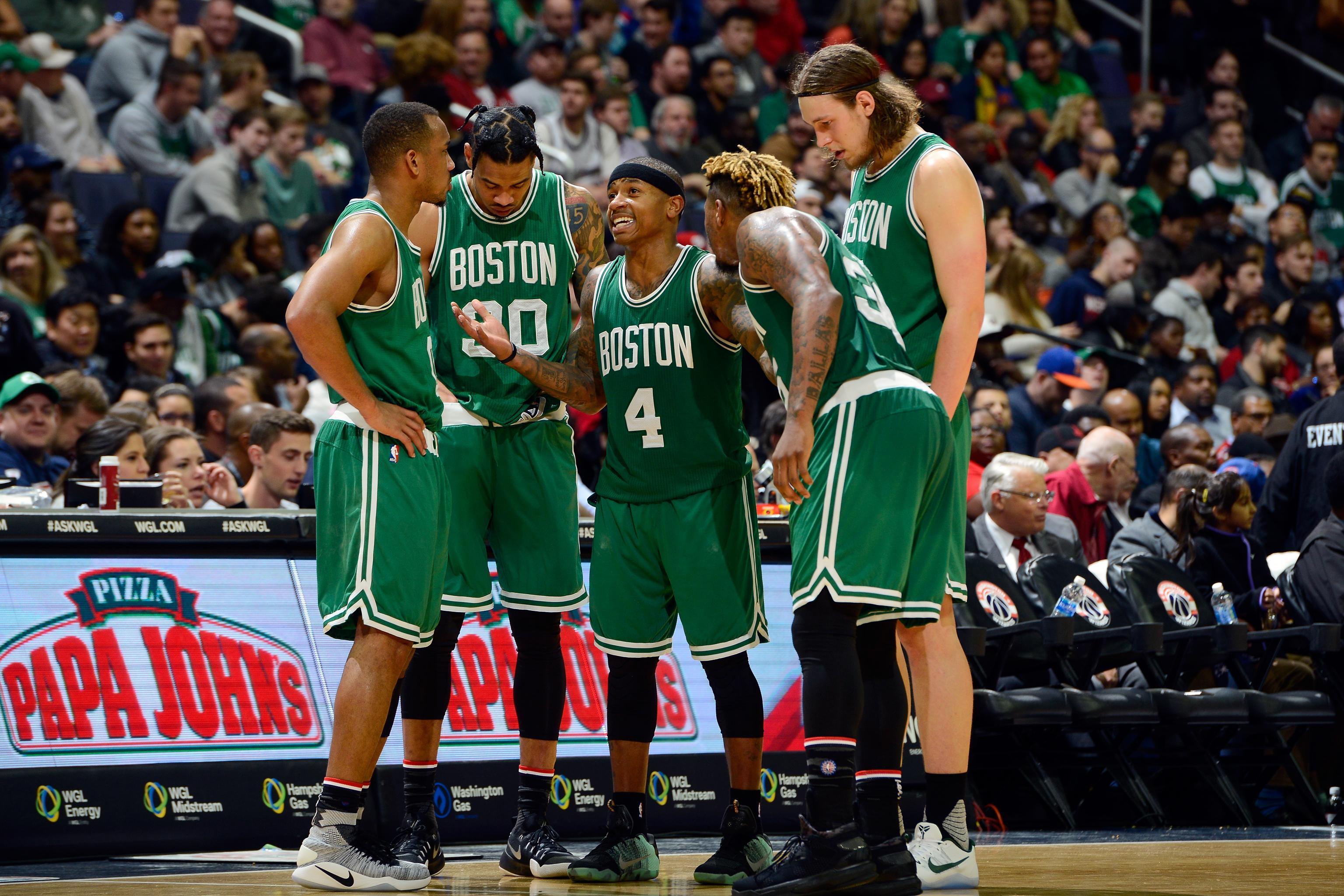 big sale 7261b 4df53 Celtics Will Feature GE Logo on Jersey: Latest Details ...