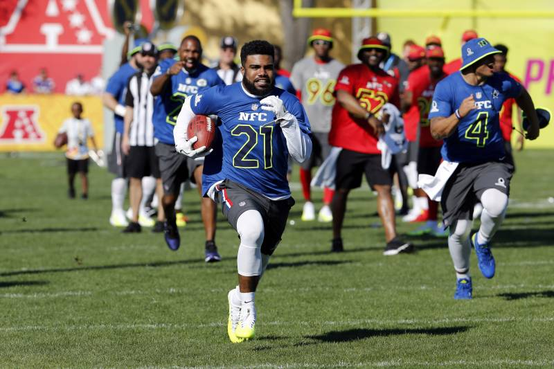 new arrival 4ea8a 754e2 Pro Bowl 2017: AFC vs. NFC Rosters and Players to Watch ...