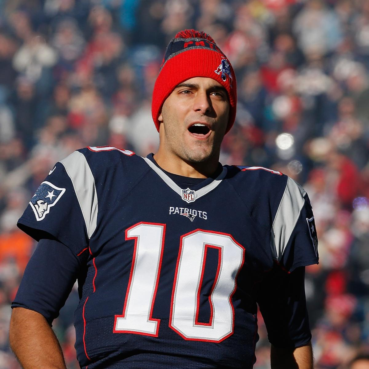 Jimmy Garoppolo Traded to 49ers  Patriots Receive 2nd-Round Pick ... e51bae9ca