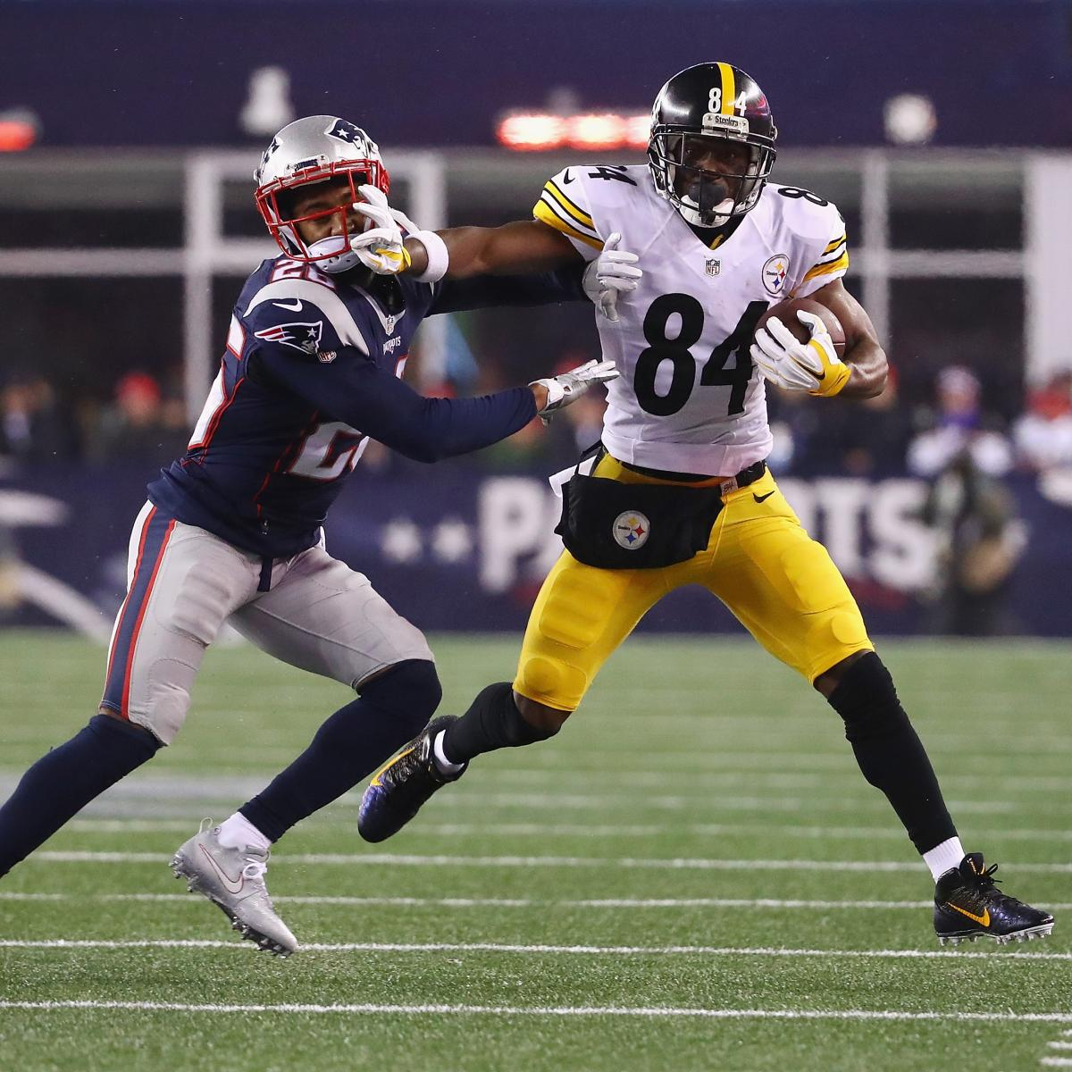 Pittsburgh Steelers Mike Tomlin S New Contract Ushers In: Antonio Brown's Contract, Behavior Addressed By Steelers