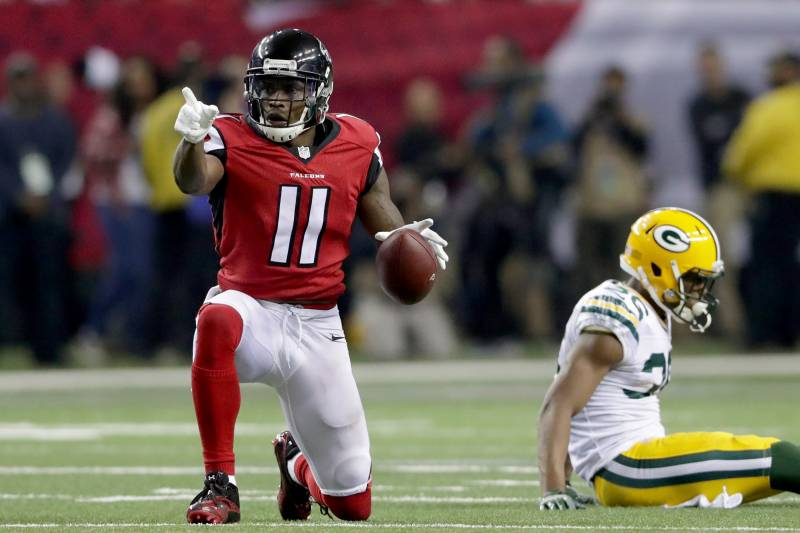 innovative design b8f5c 4ccc9 More Than Just Dominant: Julio Jones Is Unlike Anything the ...