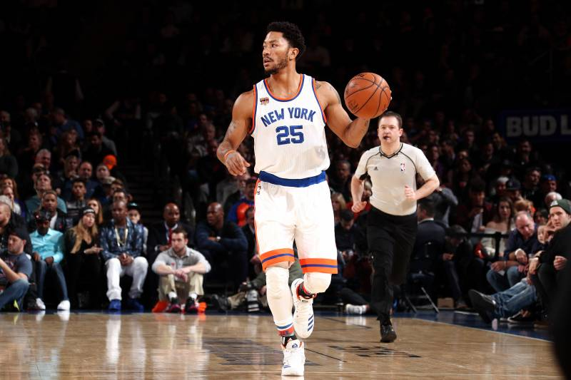 Derrick Rose Comments on Potentially Being Traded by Knicks