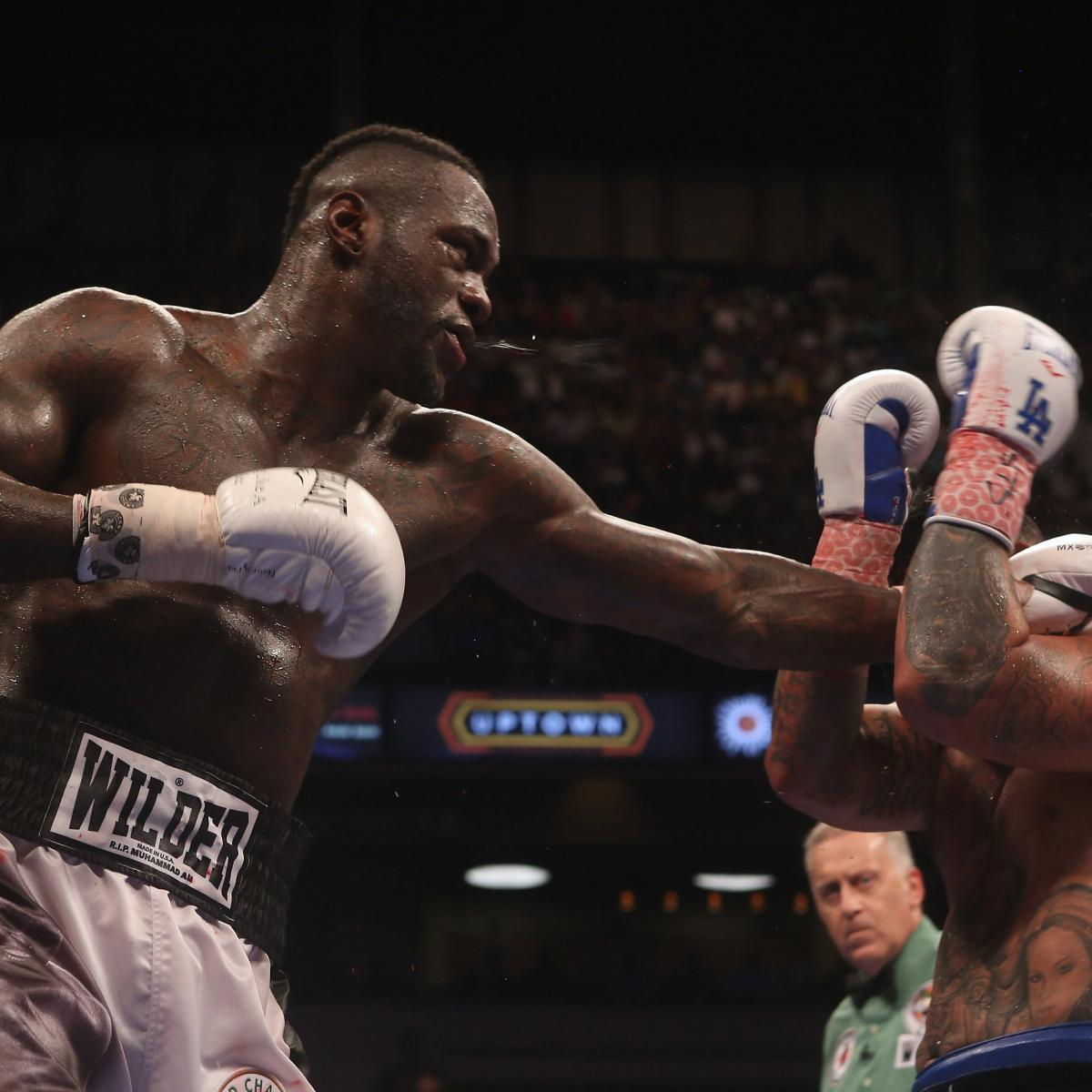 Deontay Wilder's Breakout Will Never Come Until He Takes
