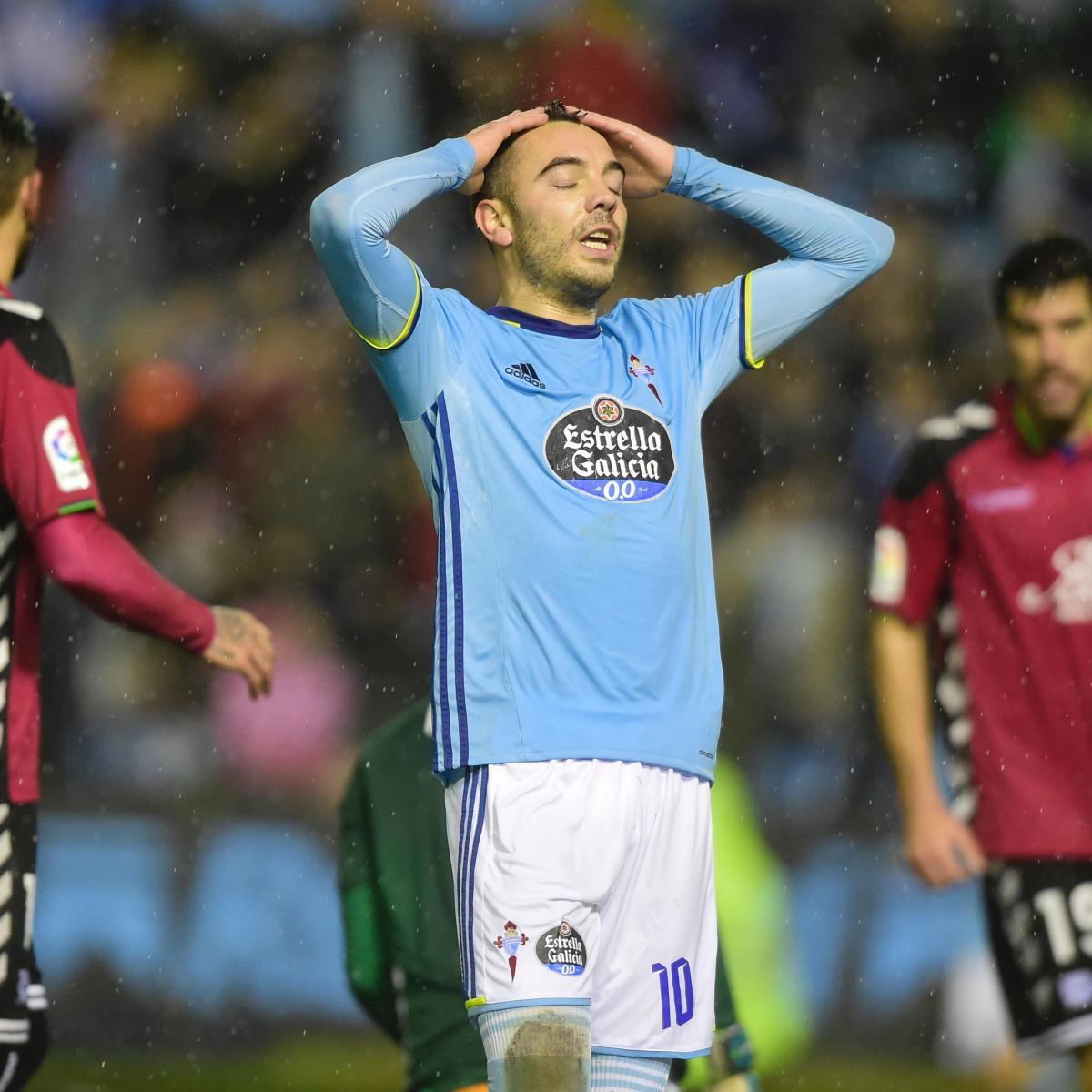 Alaves Vs. Celta Vigo: 2017 Spanish Copa Del Rey Leg 2