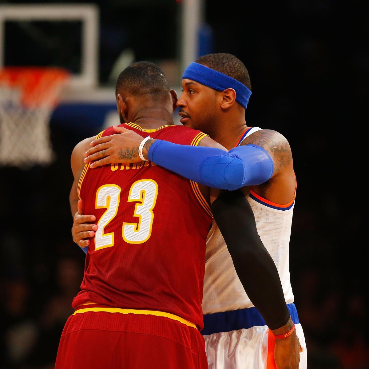 Carmelo Anthony Trade Rumors: LeBron James Wants Deal, OK ...