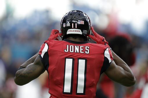 Julio Jones Falcons 2017