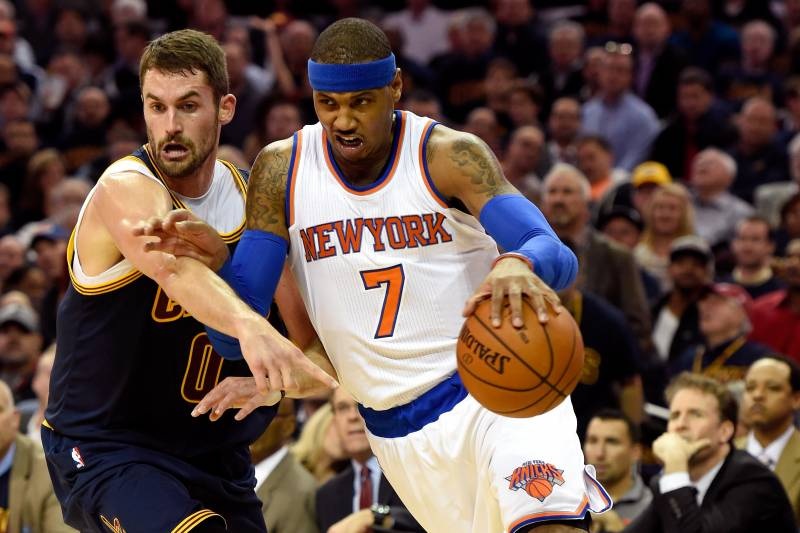 watch 0fa28 71071 CLEVELAND, OH - OCTOBER 30  Carmelo Anthony  7 of the New York Knicks