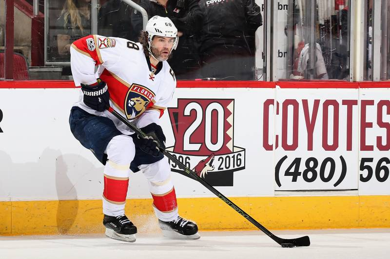 Jaromir Jagr Close To Becoming 2nd Player With 1 900 Career Points
