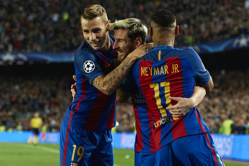 12700a65a48 Lucas Digne Discusses Lionel Messi