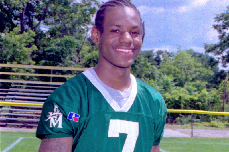 5a2f974de59  He Was a Man Amongst Boys   Catching Up with LeBron James  High School QBs