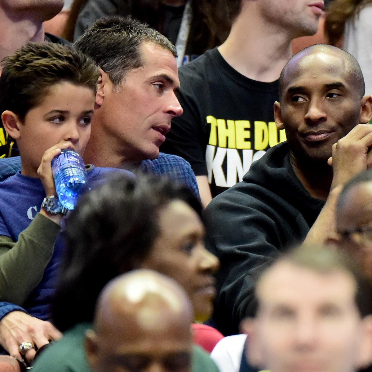 Kobe Bryant's Agent, Rob Pelinka, Reportedly Will Be New
