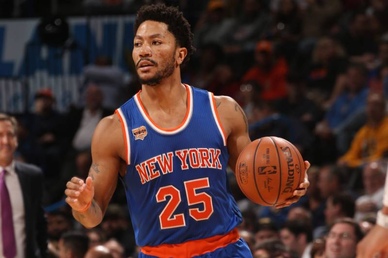 aa00255d69f2 Knicks  Derrick Rose for Ricky Rubio Trade Reportedly Rejected by  Timberwolves