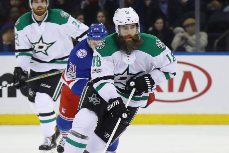 promo code 8cb10 04192 Patrick Eaves Traded to Ducks for Conditional 2nd-Round 2017 ...
