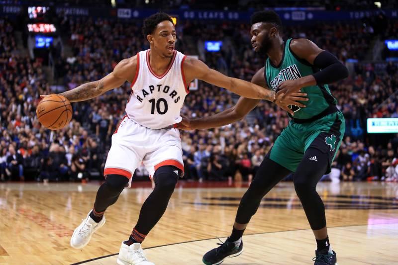 Celtics Vs Raptors Score Highlights Reaction From 2017 Regular Season Bleacher Report Latest News Videos And Highlights