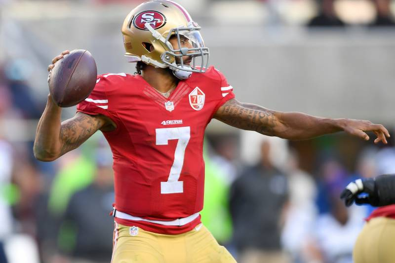 539283705 Colin Kaepernick Officially Opts out of 49ers Contract