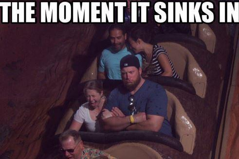 Nick Mangold Pokes Fun At Release With Disney World Meme