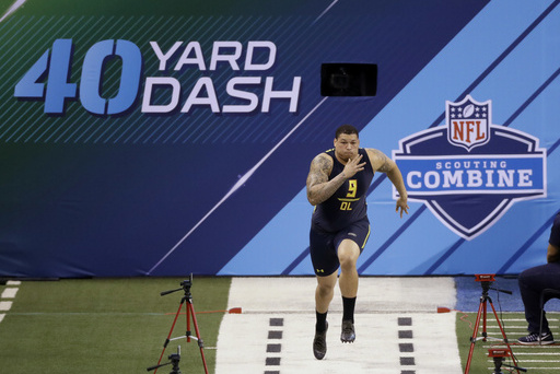 Nfl Combine 2017 Results Tracking 40 Times Bench Press And All