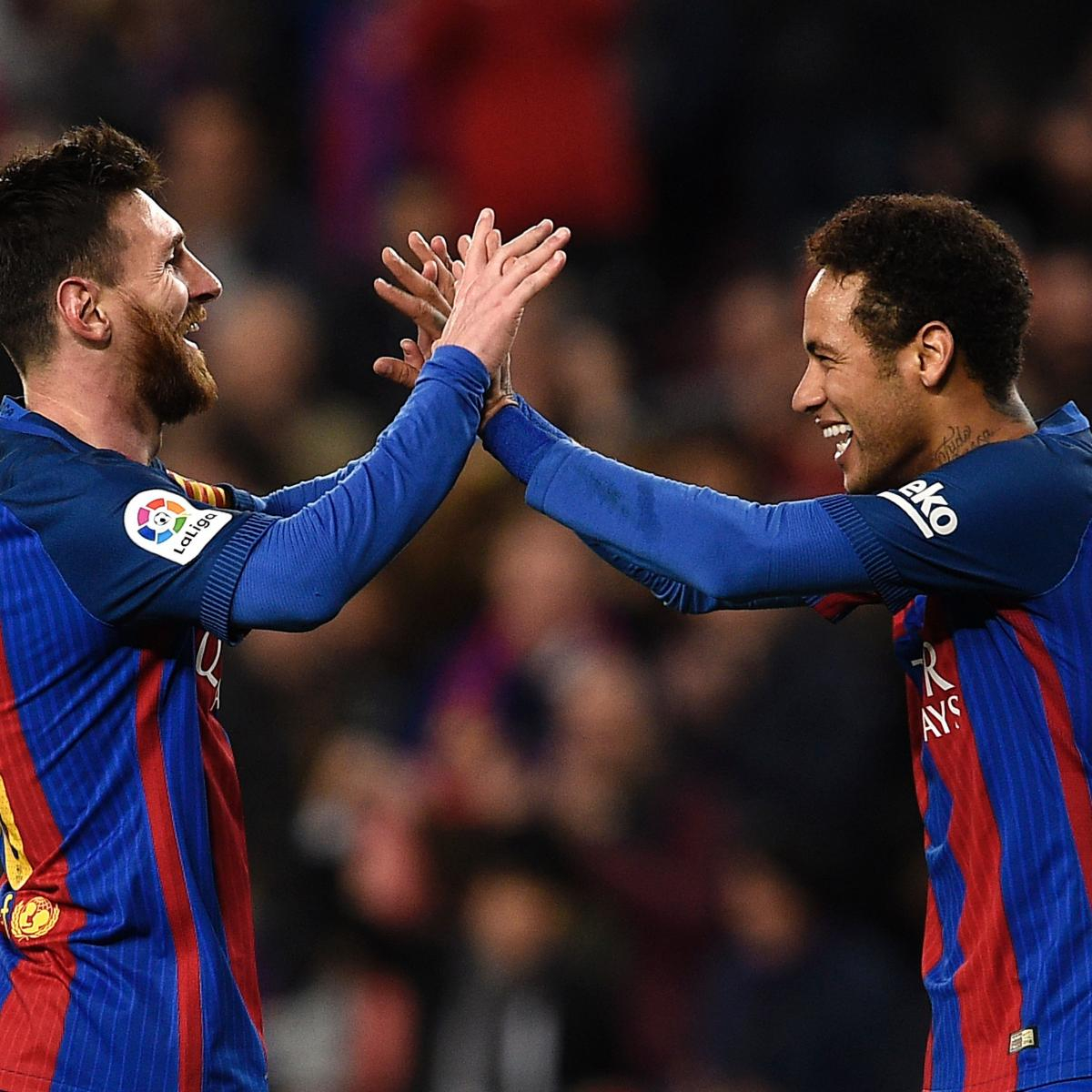 Barcelona Vs Celta Vigo Goals Today: Barcelona Vs. Celta Vigo: Score And Reaction From 2017 La