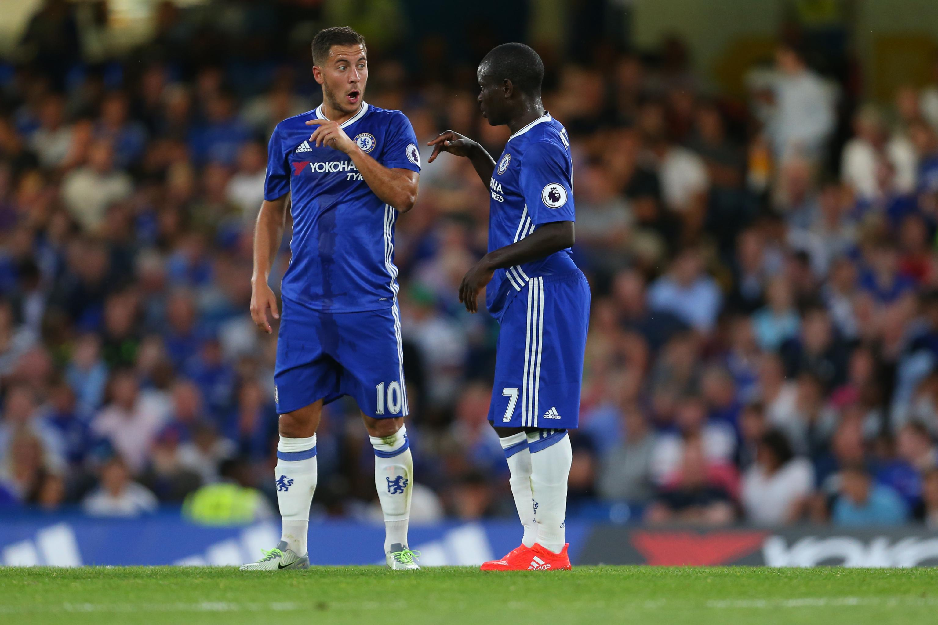 Eden Hazard Says N'Golo Kante Is Like 'Playing with Twins' in ...