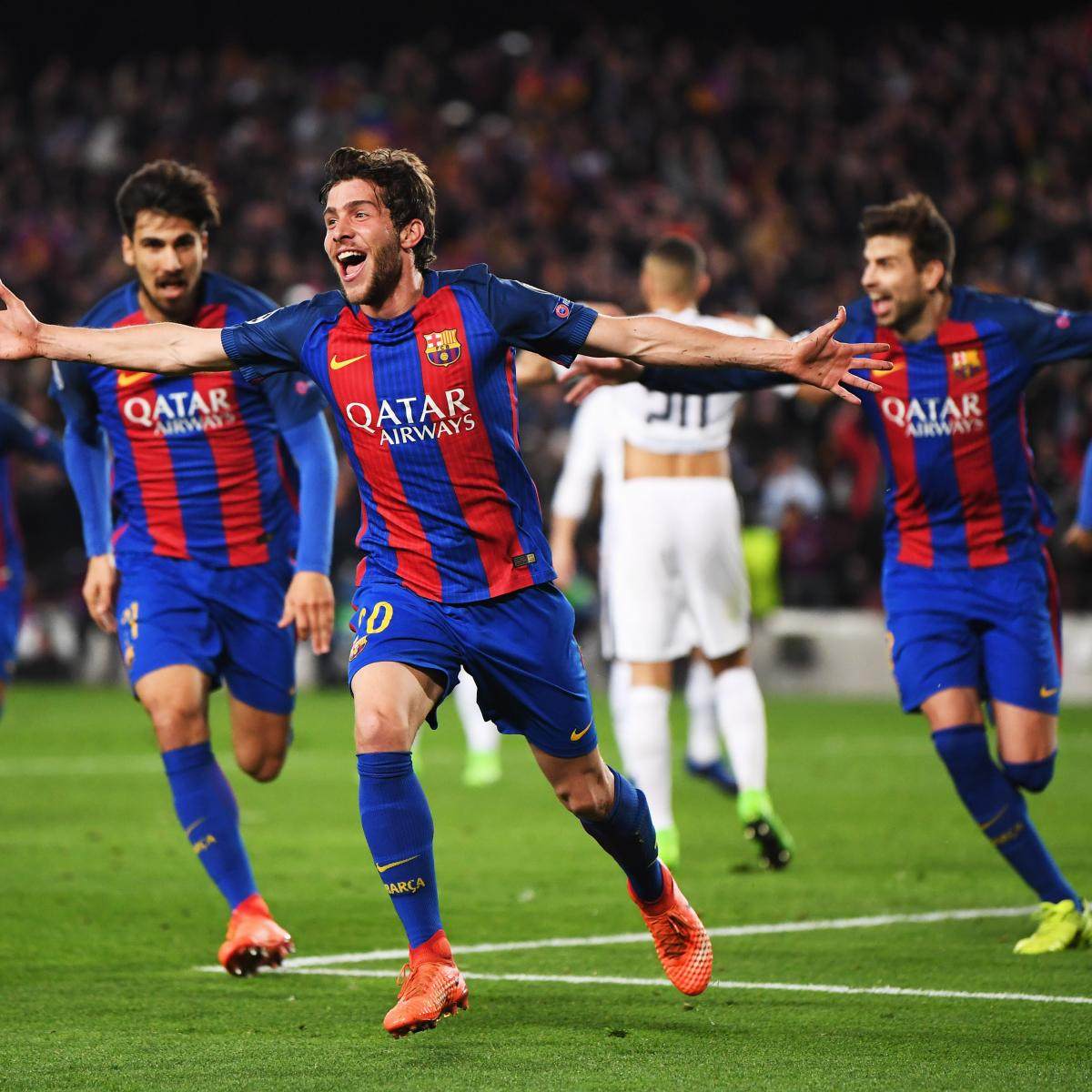 Barcelona vs. PSG: Score and Reaction from 2017 Champions ...