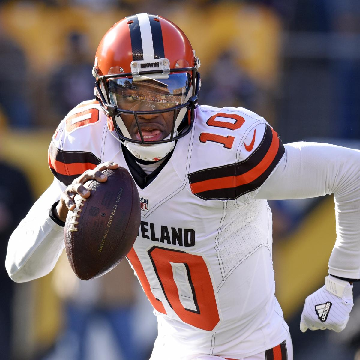 Robert Griffin III, Ravens Agree To Contract; QB Did Not