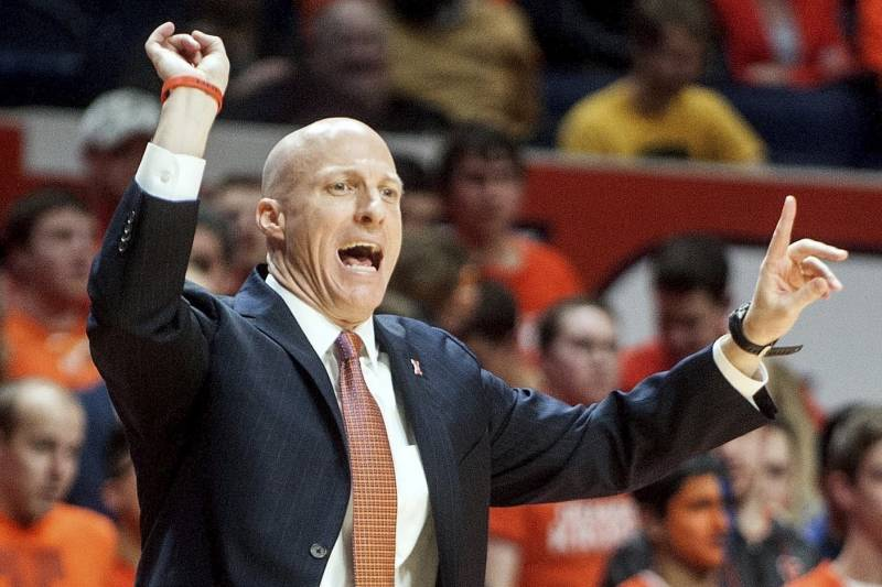 Image result for College Basketball Illinois Fighting Illini Hire John Groce