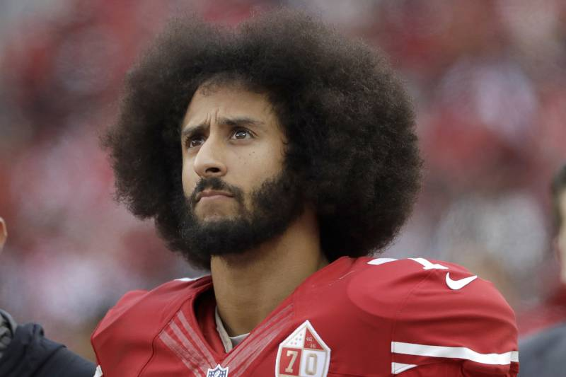 Colin Kaepernick Sentenced to NFL Limbo for the Crime of Speaking