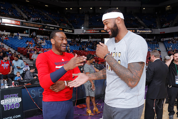 01bd0b077015 John Wall Says DeMarcus Cousins Said He d Play for Wizards ...