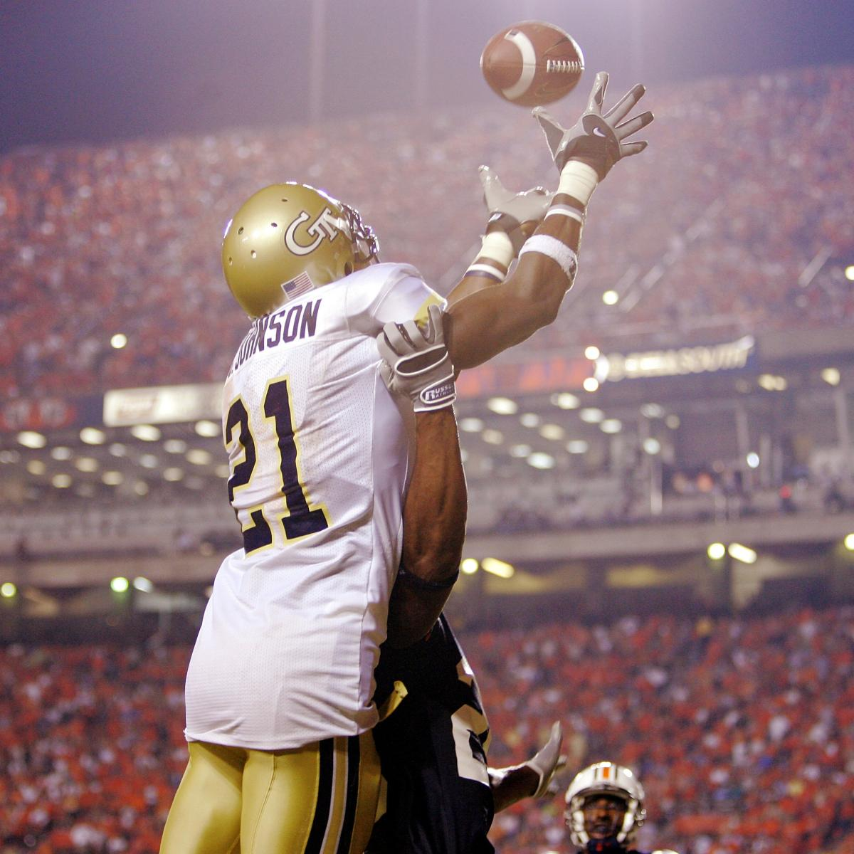 Ranking The Top 16 College Football Wide Receivers Of All Time