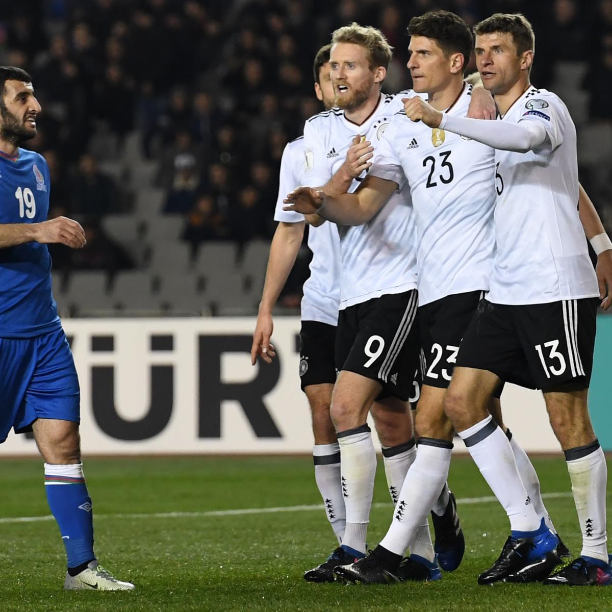 Azerbaijan News And Scores: Azerbaijan Vs. Germany: Score And Reaction For World Cup